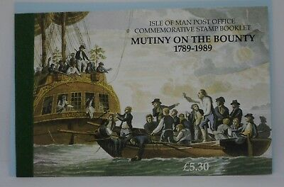 Isle of Man Stamps, 1989, Bicentenary of Mutiny on the Bounty,Booklet, SB20, MNH