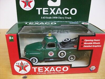 Texaco Gas 1:43 Scale 1950 Chevy Tow Truck Diecast Gearbox Toys And Collectibles