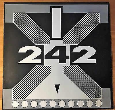Front 242 * Headhunter/Welcome to Paradise * 1988 * Red Rhino Europe