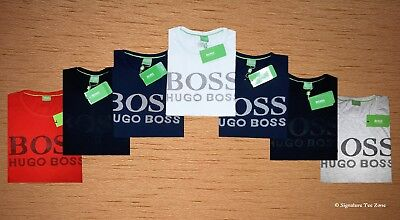 50 % summer sale on MEN's Genuine HUGO BOSS Wave Texture Crew Neck t shirt