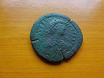 """Justinian I 527-565 AD AE Follis Large """"M"""" Ancient Byzantine Coin"""