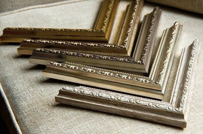 Ornate Shabby Chic Picture Photo Poster Frames Fitted with Glass