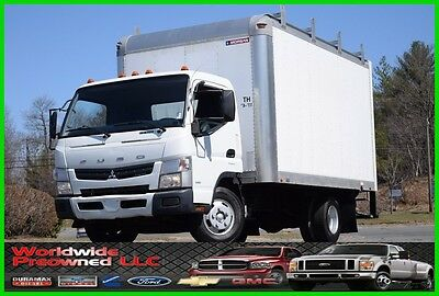 2012 Mitsubishi Fuso Fe125 Tilt Cab Over Box Truck 3.0L Turbo Diesel 14ft Box