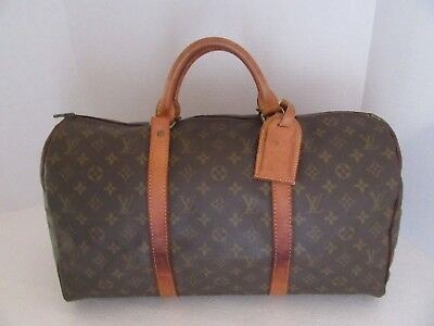 Louis Vuitton Keepall 45 Duffel Bag, Travel Bag Sa #160188