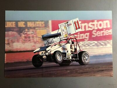 1987 Sprint Race Car World of Outlaws Print, Picture, Poster RARE!! Awesome L@@K