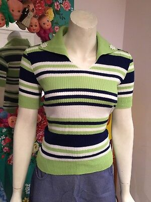 Vintage Retro 1970's Original Top Mod Size 8/ 10?