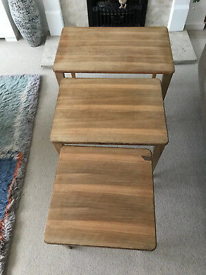 Gordon Russell of Broadway nest of tables mid century