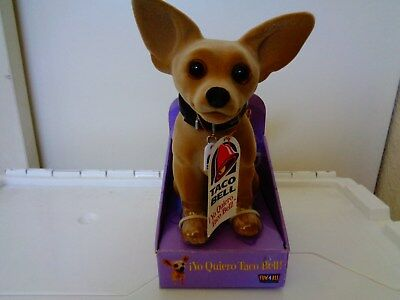 """Fun 4 All Toy - Taco Bell Dog  Bobble Head  6 1/5"""" Tall Sitting Down  -New"""