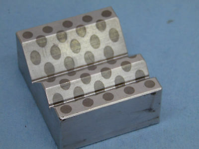 MAGNETIC TRANSFER 45 degree V-BLOCK machinist tools alluminum and steel