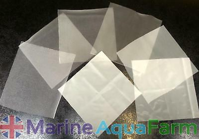 5 MICRON MESH 200mm x 200mm, ZOOPLANKTON SIEVE, CORAL, COPEPOD BRINE SHRIMP