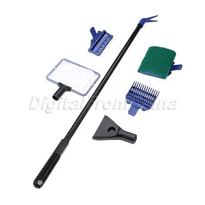 Hot Sale 5 In 1 Complete Aquarium Fish Tank Cleaning Set Cleaner Tools Kit