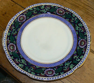 Lovely and Uncommon BOOTHS 'Jacobean - Multicoloured' Cake Plate