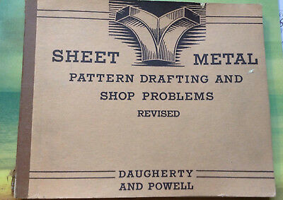 sheet metal pattern drafting and shop problems book daugherty and powell 1959