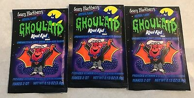 Kool-Aid Ghoul-Aid Scary Blackberry Packet x3
