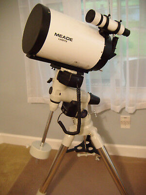 Meade 8-inch ACF LXD75 UHTC. Mount and Tripod