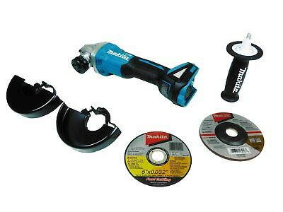 Makita XAG04Z 18V LXT Lithium-Ion Brushless Cordless 4-1/2 / 5 in. Cut-Off