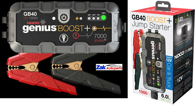Noco GB40 Genius Boost Pack 12V 1000A Lithium Battery Jump Start Car & Truck NEW