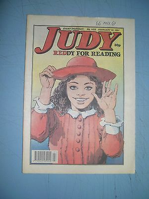 Judy issue 1623 dated February 16 1991