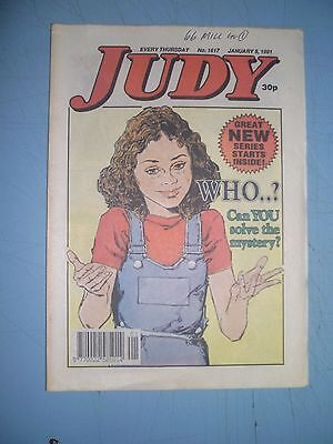 Judy issue 1617 dated January 5 1991