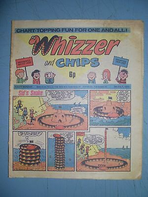 Whizzer and Chips issue dated July 3 1976