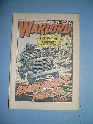 Warlord issue 329 dated January 10 1981