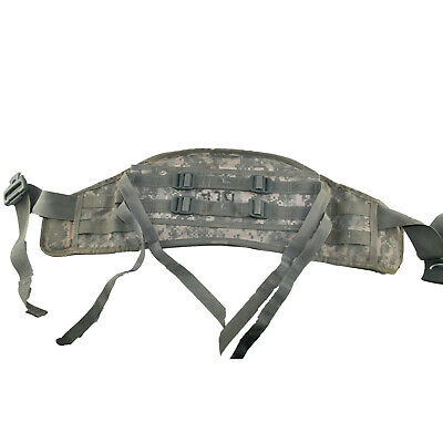 Molle Ii Acu Molded Waist Belt, Kidney Pad For Rucksack