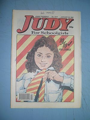 Judy issue 1619 dated January 19 1991