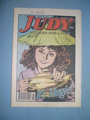 Judy issue 1618 dated January 12 1991