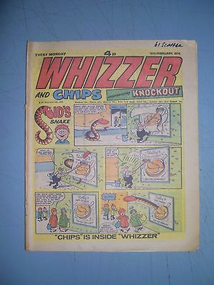 Whizzer and Chips issue dated February 16 1974