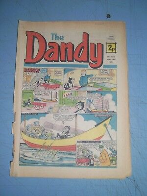 Dandy issue 1535 dated April 24 1971