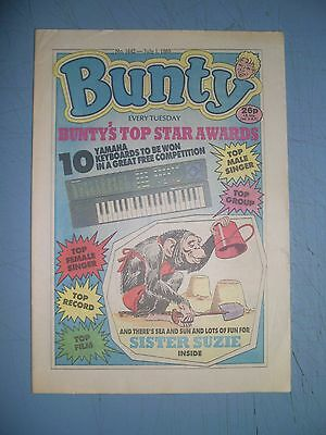 Bunty issue 1642 dated July 1 1989