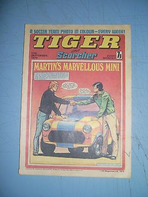 Tiger issue dated September 11 1976