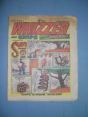 Whizzer and Chips issue dated September 15 1973