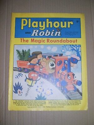 Playhour and Robin issue dated November 29 1969