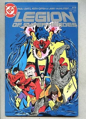 Legion Of Super-Heroes #1-1984 nm- Keith Giffen