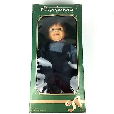 "Vintage Expressions By Berenguer 18"" Doll New Real Life Look Soft Bodied Boy"