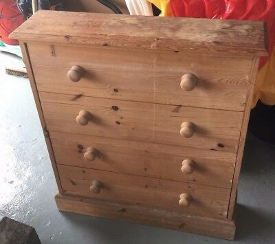 Solid Pine Hand Made Shoe Sideboard Cupboard - Natural Finish