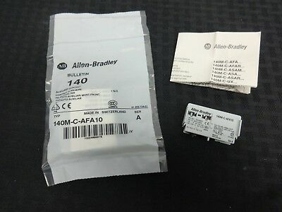 Allen-Bradley Auxilliary Contact Circuit Breaker 140M-C-AFA10 Series A