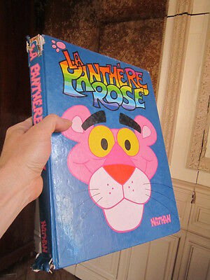 LA PANTHERE ROSE nathan 1985   156 pages 35 cm  x 26 cm