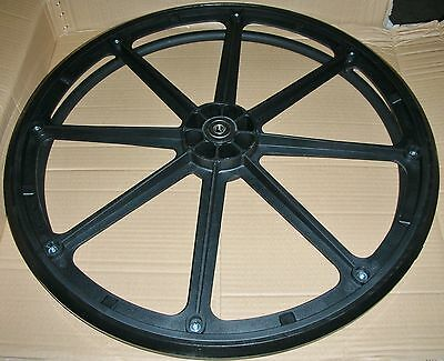 Wheelchair Replacement Rear Wheel Assembly GEY-1WA 1'' X 24'' Comp. Rim