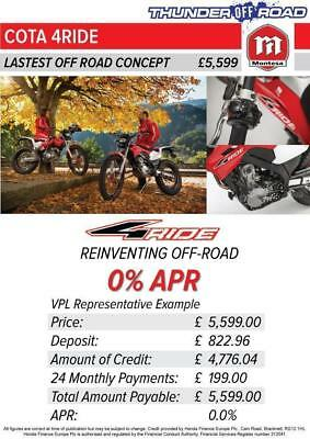Montesa Honda Mrt260 4Ride 4-Ride Available With 48 Months 0% Finance Option