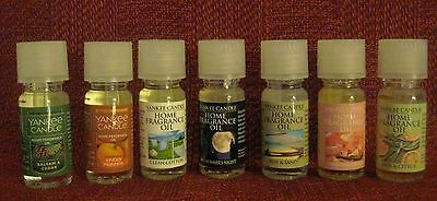 Yankee Candle Home Fragrance Oil .33 Fl Oz - 30 Scents  Available - You Choose