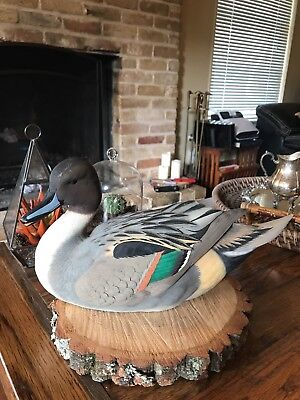 Ducks Unlimited Pintail Drake 2004-05 Special Edition Decoy by Jett Brunet