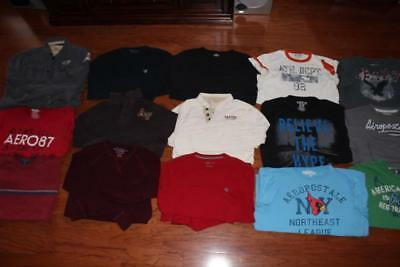 Lot Of 15 Abercrombie & Fitch Aeropostale Mens T Shirts Ae Tees Express Xl Xxl
