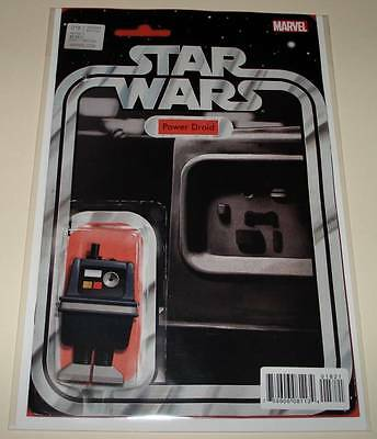 STAR WARS # 18 Marvel Comic  2016  NM  Power Droid ACTION FIGURE VARIANT EDITION