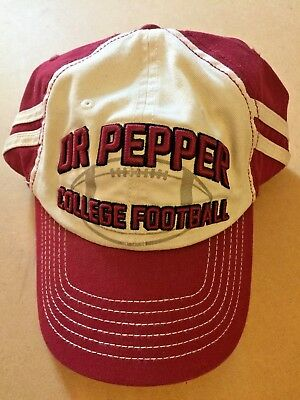 Dr Pepper College Football Real Cap C'mon Pepper Lovers - Show It Off - Unfitted