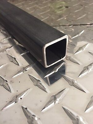 "1-1/4"" x 1-1/4"" x 11 GA (.120) Hot Rolled Steel Square Tubing x 12"" Long"
