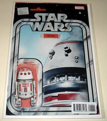 STAR WARS # 13 Marvel Comic  2016  NM  R5-D4 Droid ACTION FIGURE VARIANT EDITION