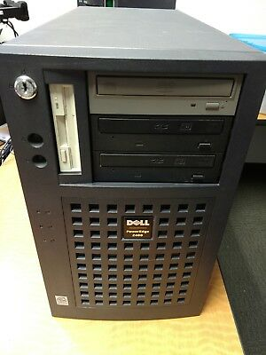 Dell PowerEdge 2400 Server Dual 1GHz CPU, 2GB Ram, 6 Drive RAID5 Tested/Working