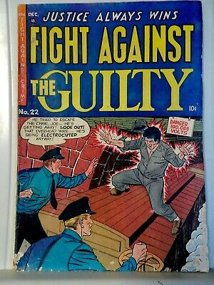 1954 CDC Fight Against the Guilty ~ Vol 1 No 22 ~ Fight Against the Guilty